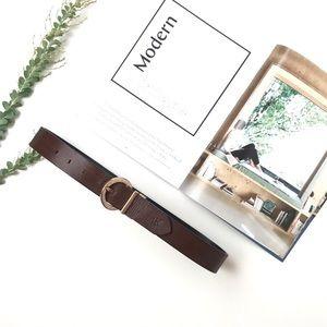 Calvin Klein Brown leather belt